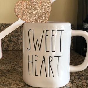 "NWT RAE DUNN ""Sweet Heart"" mug"